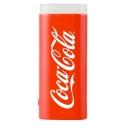 COCA-2500LEDROUGE - Batterie de secours Coca-Cola Power-Bank avec lampe de poche coloris rouge