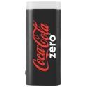 COCA-2500LEDZERO - Batterie de secours Coca-Cola Power-Bank avec Lampe de poche coloris noir