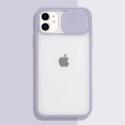 COQUEAPN-IP11MAUVE - Coque antichoc iPhone 11 avec protection appareil photo mauve et transparent