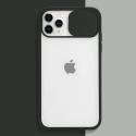 COQUEAPN-IP11PRONOIR - Coque antichoc iPhone 11 PRO avec protection appareil photo noire et transparent