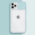 COQUEAPN-IP11PROTURQ - Coque antichoc iPhone 11 PRO avec protection appareil photo turquoise et transparent