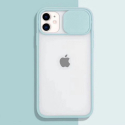 COQUEAPN-IP11TURQ - Coque antichoc iPhone 11 avec protection appareil photo turquoise et transparent