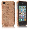 HCORK-IPHONE4-BR - Coque Case-mate Lisbao Cork Bronze pour iPhone 4s