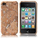 HCORK-IPHONE4-SIL - Coque Case-mate Lisbao Cork Silver pour iPhone 4