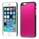 COVALUIP6ROSE - Coque rigide avec aluminium brossé rose pour iPhone 6