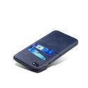 COVCARTE-IP8BLEU - Coque iPhone 7/8 coloris bleu avec logements cartes