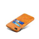 COVCARTE-IP8CAMEL - Coque iPhone 7/8 coloris camel avec logements cartes