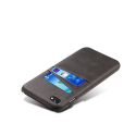 COVCARTE-IP8NOIR - Coque iPhone 7/8 coloris noir avec logements cartes