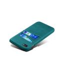 COVCARTE-IP8TURQ - Coque iPhone 7/8 coloris turquoise avec logements cartes