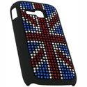 COVSTTASSSUKC3310 - Coque drapeau Anglais Strass pour Samsung Player Mini 2 C3310