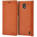 CP-304CAMEL - Etui Nokia 2 CP-304 marron rabat latéral logement carte