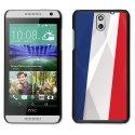 CPRN1DES610DRAPFRANCE - Coque noire pour HTC Desire 610 motif drapeau France
