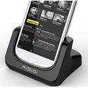 CRADKIDIGI_S4 - Kidigi Cradle Station d'accueil Galaxy S4 permet Charge et Synchronisation