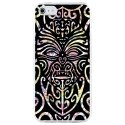CRYSAIPHONE4TIKI - Coque rigide pour Apple iPhone 4 avec impression Motifs tiki