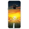 CRYSGALAXYS9DRIVE - Coque rigide transparente pour Samsung Galaxy S9 avec impression Motifs Drive