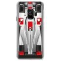 CRYSGALAXYS9FORMULE1 - Coque rigide transparente pour Samsung Galaxy S9 avec impression Motifs Formule 1