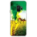 CRYSGALAXYS9FURY - Coque rigide transparente pour Samsung Galaxy S9 avec impression Motifs Fury