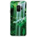 CRYSGALAXYS9HUMANITY - Coque rigide transparente pour Samsung Galaxy S9 avec impression Motifs Humanity
