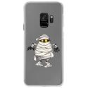CRYSGALAXYS9MOMIE - Coque rigide transparente pour Samsung Galaxy S9 avec impression Motifs momie