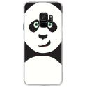 CRYSGALAXYS9PANDA - Coque rigide transparente pour Samsung Galaxy S9 avec impression Motifs panda