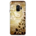 CRYSGALAXYS9YINYANG - Coque rigide transparente pour Samsung Galaxy S9 avec impression Motifs yin et yang