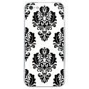 CRYSIPHONE5CBAROQUE1 - Coque rigide transparente pour Apple iPhone 5C avec impression Motifs style baroque 1