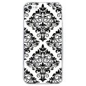CRYSIPHONE5CBAROQUE5 - Coque rigide transparente pour Apple iPhone 5C avec impression Motifs style baroque 5