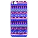 CRYSIPHONE5SAZTEQUEBLEUVIO - Coque rigide pour Apple iPhone 5S avec impression Motifs aztèque bleu et violet