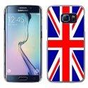 CRYSS6EDGEUNIONJACK - Coque rigide transparente pour Galaxy S6 Edge impression motif Union Jack