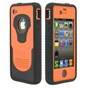 CY-IPH4-O - Coque Trident CYCLOPS Series orange pour iPhone 4