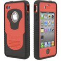 CY-IPH4-RD - Coque Trident CYCLOPS Series rouge pour iPhone 4