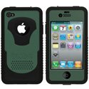 CY-IPH4-V-BG - Coque Trident CYCLOPS V Series verte pour iPhone 4