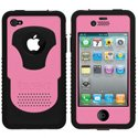 CY-IPH4-V-PK - Coque Trident CYCLOPS V Series rose pour iPhone 4