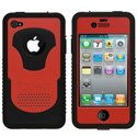CY-IPH4-V-RD - Coque Trident CYCLOPS V Series rouge pour iPhone 4S