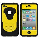 CY-IPH4-YL - Coque Trident CYCLOPS Series jaune pour iPhone 4S