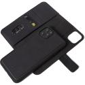 DECODED-D20IPO54DW2BK - Etui Decoded Premium détachable 2en1 Phone 12 /Mini cuir noir
