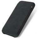 DECODED-D8IPO65SW3BK - Etui Decoded Premium Cuir iPhone XS Max coloris noir mat