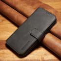 DGMING-S7NOIR - Etui Galaxy S7 haut de gamme noir logements carte fonction stand