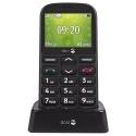 DORO-1360NOIR - Téléphone sénior Doro 1360 avec socle de chargement