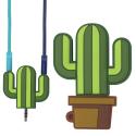 DOUBLEJACK-CACTUS - Dédoubleur de prise Jack 3.5mm cactus