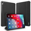 DUX-DOMOIPAD1292018GREY - Etui iPad Pro 12.9 2018 gris foncé avec coque intérieure souple et emplacement stylet