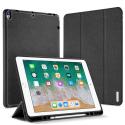 DUX-DOMOIPADPRO105NOIR - Etui iPad Pro 10.5 noir avec coque intérieure souple et emplacement stylet