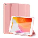 DUX-DOMOIPADPRO105ROSE - Etui iPad Pro 10.5 rose avec coque intérieure souple et emplacement stylet