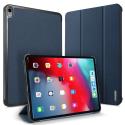DUX-DOMOIPADPRO11BLEU - Etui iPad Pro 11 pouces bleu avec rabat articulé