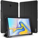 DUX-DOMOTABS5ENOIR - Etui Galaxy Tab S5e (T720) noir avec coque rigide et rabat articulé