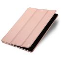DUX-FOLIOIPADAIR2ROSE - Etui iPad Air 2 rose gold fin avec rabat latéral articulé mise en veille auto