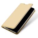 DUX-FOLIOMATE10GOLD - Etui Mate-10 gold fin avec rabat latéral aimant invisible et coque souple