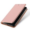 DUX-FOLIONOKIA2ROSE - Etui Nokia-2 rose fin avec rabat latéral aimant invisible et coque souple