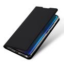 DUX-MIA3NOIR - Etui Xiaomi Mi-A3 noir fin avec rabat latéral aimant invisible et coque souple