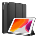 DUX-OSOMIPAD102NOIR - Etui iPad 10.2 noir Dux OSOM avec coque intérieure souple et rabat articulé